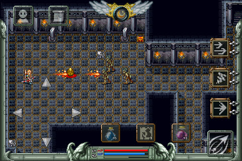 Screenshot Dungeon & Hero Review