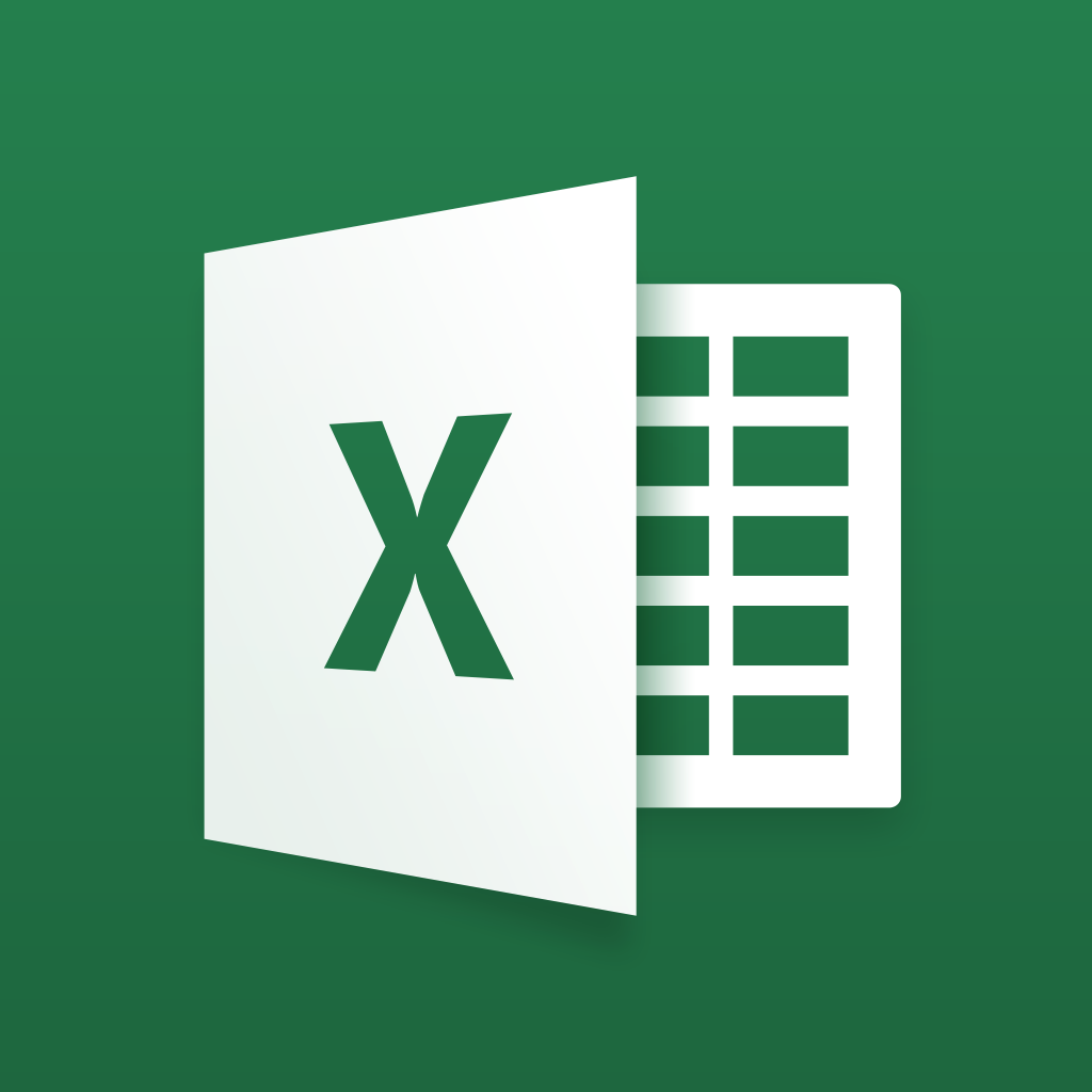 Microsoft Excel for iPad